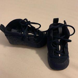 Baby soft bottom Nike foamposite